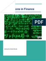 Simulation in Financial Services