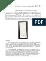 3 Post Lab ExtractionofCaffeine