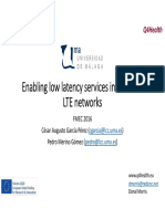 Enabling Low Latency Services Presentation