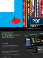 Bloomsbury Academic Catalogue 2010