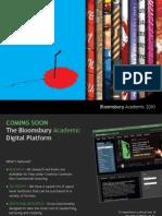 Bloomsbury Academic Catalogue 2010