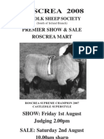 Roscrea Suffolk Sale Catalogue