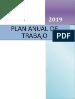 Plan Anual de Trabajo 2019 Cuyo Modificar