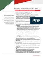 Wg Firebox m400-m500 Ds