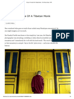 homework 5 2    a day in the life of a tibetan monk  npr article