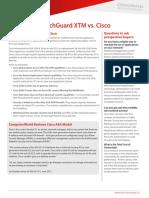 XTM vs. Cisco - International Version