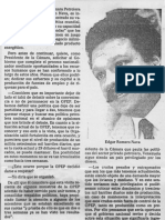 Edgard Romero Nava Articulo de Opinion