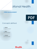 10. Stress and Health