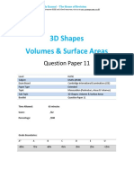 44.11 3d Shapes Volumes Surface Areas -Cie Igcse Maths 0580-Ext Theory-qp