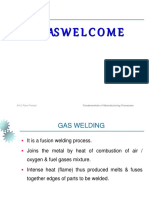 Lecture 21 Gas Welding