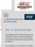A Presentation on Job Satisfaction-2