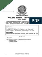Regulamentação Pedagogo PL 6847 2017