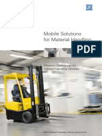 Mobile Solutions for Material Handling