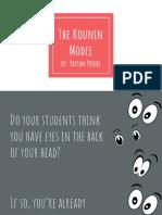 the kounin model research powerpoint