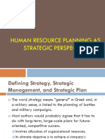 HRP as a Strategic Perspective -CH 1