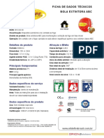Ficha Tecnica Elide Fire Brasil 2018