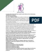 Dayse Machado Palacio - El Area Programacion de La Educacion