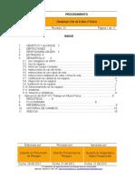 Procedimiento PGR 013