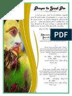 Prayer Of Saint Pio