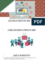 Gestión de Proyectos Web