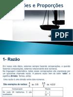 slides - razão e proporção