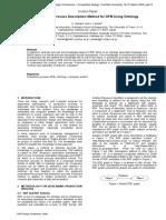 A Study on Process Description Method for DFM Using Ontology-2009