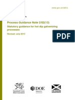 Hot Dip Galvanizing Processes Process Guidance Note 2-12-13