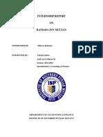 Internship Report on Ramada