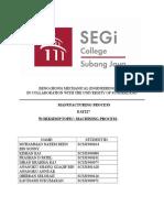 Casting Manufacturing Lab Report2