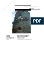 261031948 Informe Calibracion Tanque de Agua Corpesa Rev1