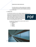 Formacion Del Vidrio Sodicocalcico Informe