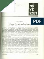 Nagy Gyula művészete