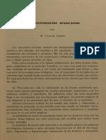 1930 - Las Ceremonias Araucanas - BMHN