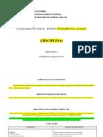 Modelo de Planejamento Anual
