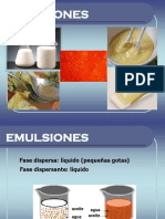 emulsiones