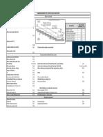Calculo de Estructura de Disipacion Escalonada