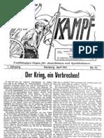 Kampf # 10 - April 1913