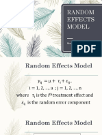 Exp With Random Factors