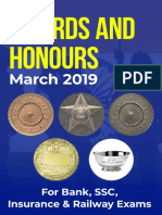 Awards and honour