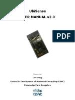 UbiSense User Manual