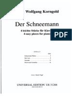 Korngold - Der Schneemann, 4 Pezzi facili per Pianoforte.pdf