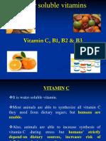 Phg 413- Vitamin c b1 b2 b3