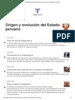Origen y Evolucion Del Estado Peruano 9