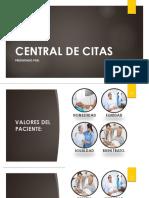 Central de Citas HOSPITALARIAS