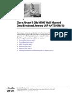 Data Sheet Ant5140nv