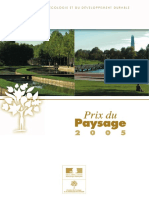 Prix Du Paysage 2005