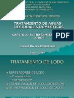 TRATAMIENTO DE LODOS