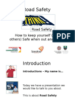 SpeakUP Road Safety PPT