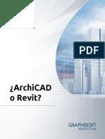 Arc PDF Archicad o Revit