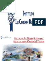 10 Sesión Factores de Riesgo Interno y Externo en El Turismo